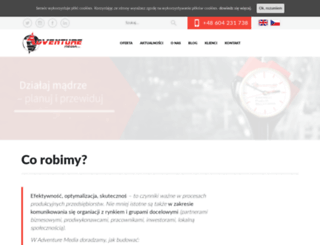 adventure.media.pl screenshot