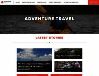 adventure.travel screenshot