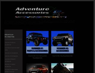 adventureaccessories.com screenshot