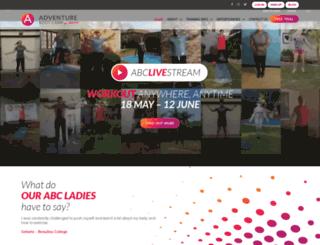 adventurebootcamp.co.za screenshot