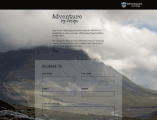 adventurebydesign.fi screenshot