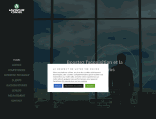 adventureconseil.com screenshot