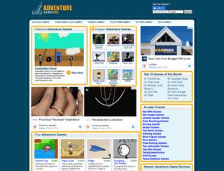 adventuregamesonline.org screenshot