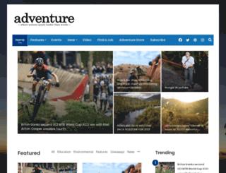 adventuremagazine.co.nz screenshot