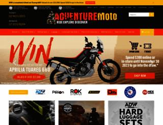 adventuremoto.com.au screenshot