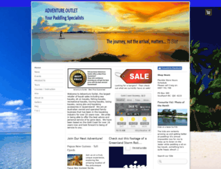 adventureoutlet.com.au screenshot