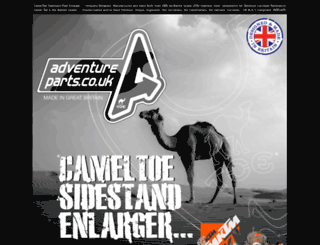 adventureparts.co.uk screenshot