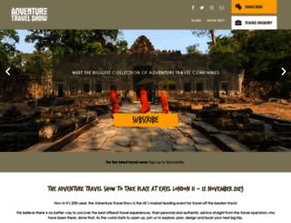 adventureshow.com screenshot