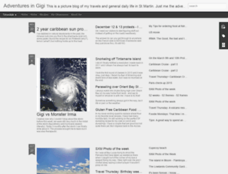 adventuresingigi.com screenshot