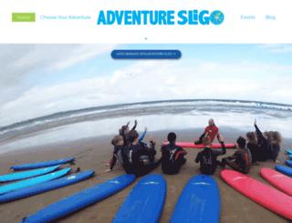 adventuresligo.ie screenshot