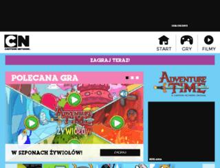 adventuretime.cartoonnetwork.pl screenshot