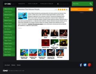 adventuretimesolucaniparcala.oyunu.net screenshot