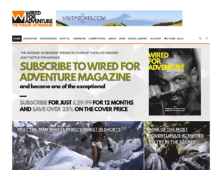 adventuretravelmagazine.co.uk screenshot
