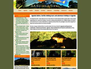 adventureugandasafari.com screenshot
