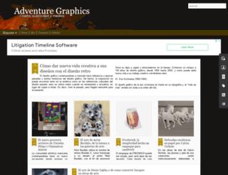 adventurgraphics.blogspot.com screenshot