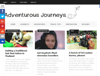 adventurous-journeys.com screenshot