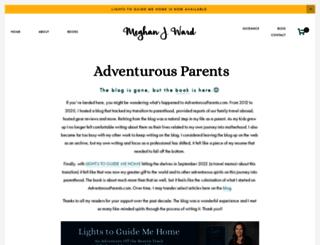 adventurousparents.com screenshot