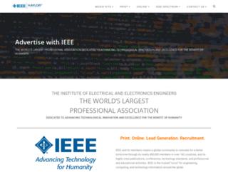 advertise.ieee.org screenshot