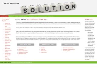 advertise.tips.net screenshot