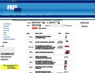 advertisementsiteonline.com screenshot