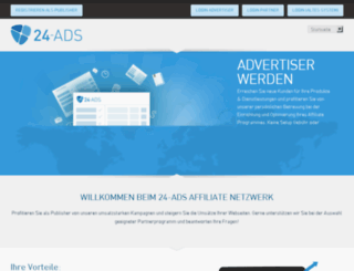 advertiser.24-interactive.com screenshot