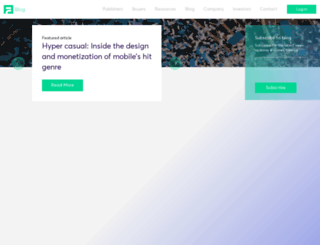 advertiser.sponsorpay.com screenshot