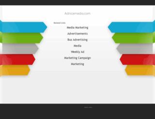 advertising.adnicemedia.com screenshot