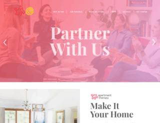 advertising.apartmenttherapy.com screenshot