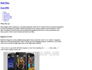 advertising.baliplus.com screenshot