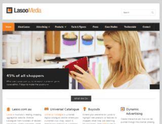 advertising.lasoo.com.au screenshot