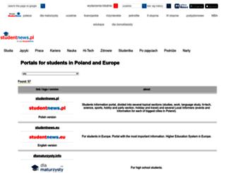 advertising.studentnews.pl screenshot