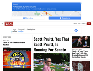 advertising.talkingpointsmemo.com screenshot