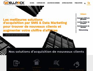 advertising.wellpack.fr screenshot