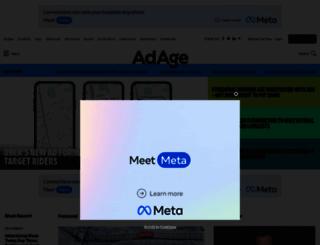 advertisingage.com screenshot