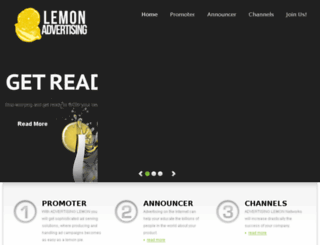 advertisinglemon.com screenshot