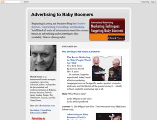 advertisingtobabyboomers.com screenshot