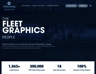 advertisingvehicles.com screenshot