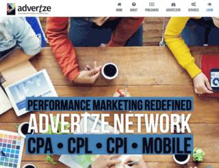 advertze.com screenshot