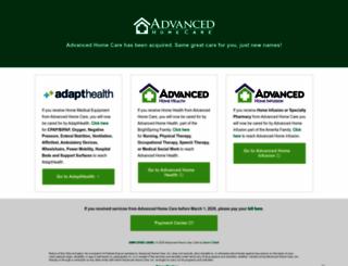 advhomecare.org screenshot