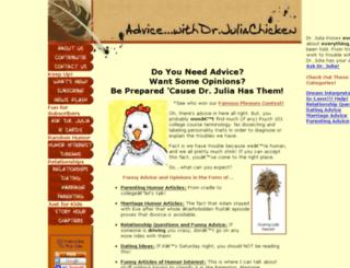 advice-with-dr-julia.com screenshot