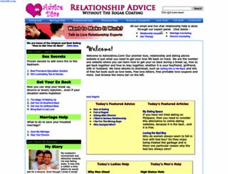 advicediva.com screenshot
