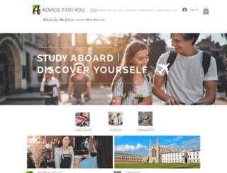 adviceforyou.org.uk screenshot