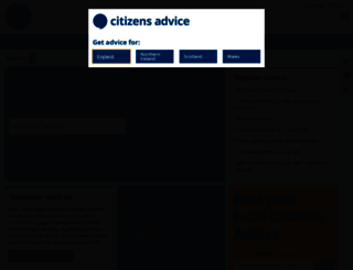 adviceguide.org.uk screenshot
