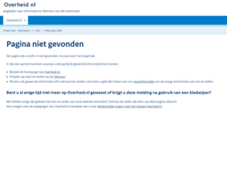 advies.overheid.nl screenshot