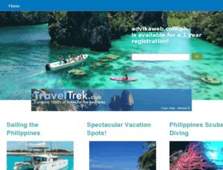 advikaweb.com.ph screenshot