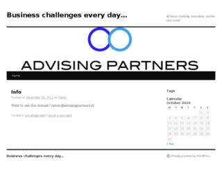 advisingpartners.nl screenshot