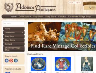 advisorantiques.com screenshot