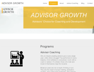 advisordevelopmentgroup.com screenshot
