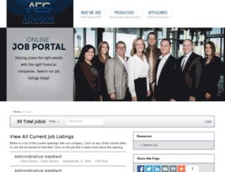 advisors.prevueaps.com screenshot