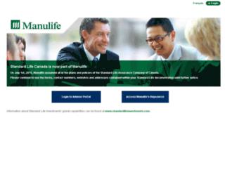 advisors.standardlife.ca screenshot
